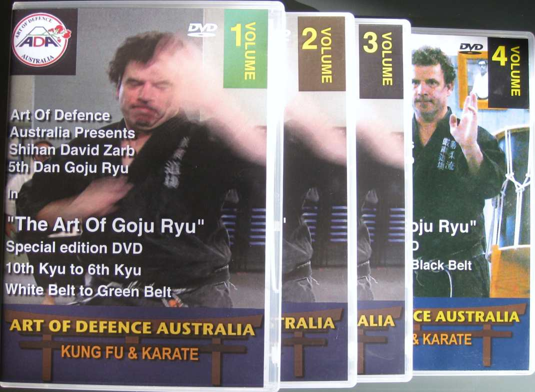 DVDs Volume 1 to 4