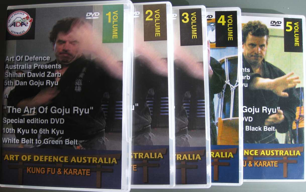 DVDs Volumes 1 to 5