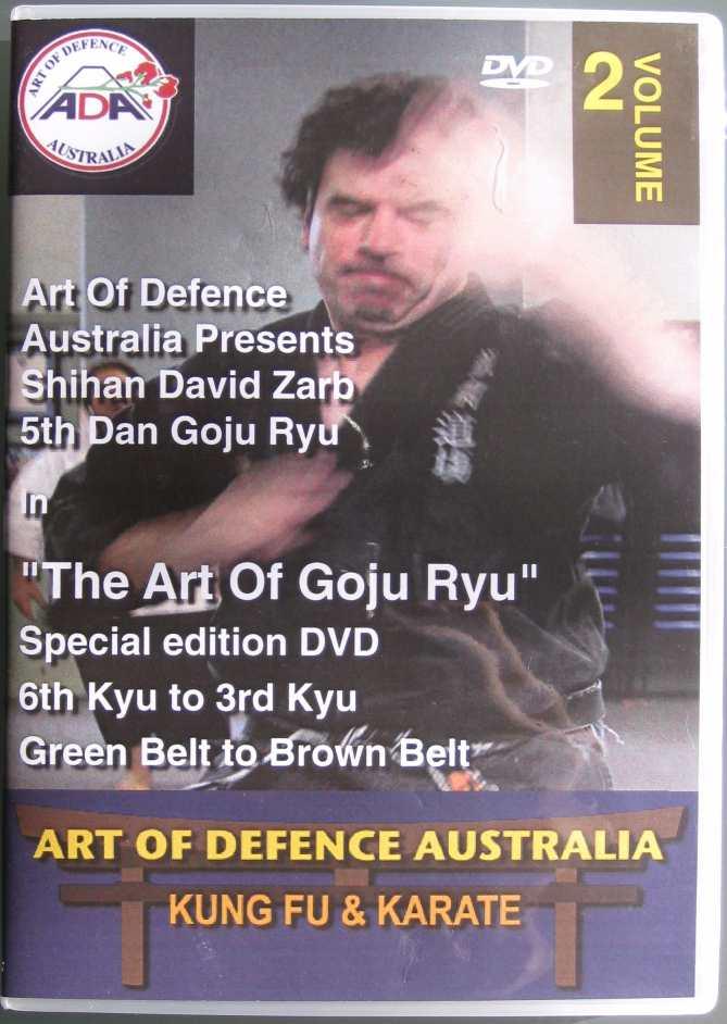 DVD 2: 5th Kyu to 3rd Kyu